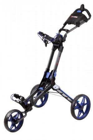Cube NXT duw trolley Zwart / blauw