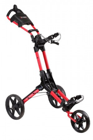 Cube NXT duw trolley Rood / zwart