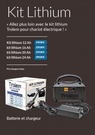 Trolem Lithium accu's