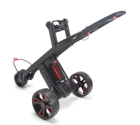 De GoKart MK2 met standaard snelheidsregeling Zwart/Zwart