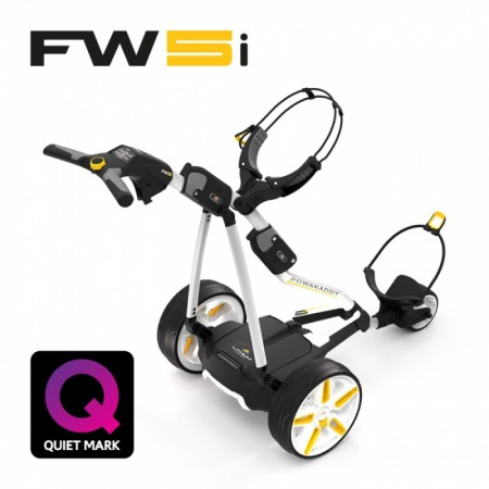 Elektrische Golftrolley Powakaddy FW-5s Lithium 2018