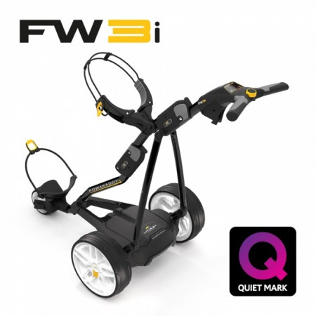 Elektrische Golftrolley Powakaddy FW-3s Lithium XL 2018