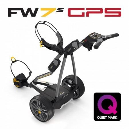 Elektrische Golftrolley Powakaddy FW-7s GPS Lithium XL 2019