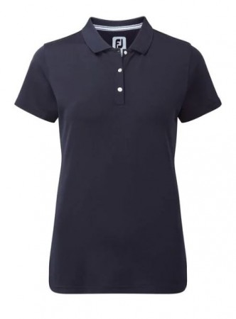 FootJoy Stretch Pique Polo - Navy