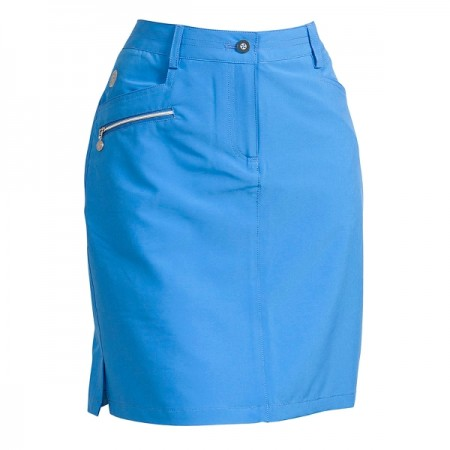 Backtee Ladies Performance Skort - Campanula Blue