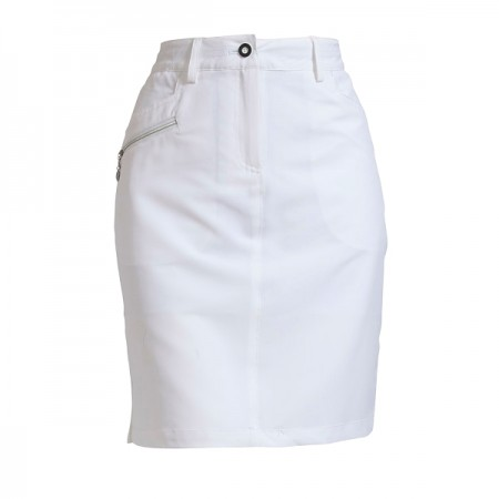 Backtee Ladies Performance Skort - White