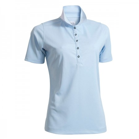 Backtee Ladies Quick Dry Performance Polo - Blue Bell