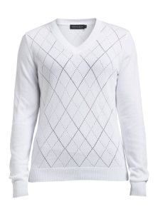 Röhnisch - Jacquard Pullover - Wit