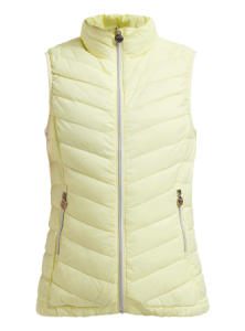 Röhnisch Light Down Vest - Powder Yellow