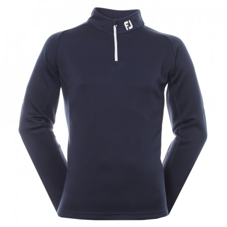 FootJoy Solid Knit Chill Out Pullover - Navy