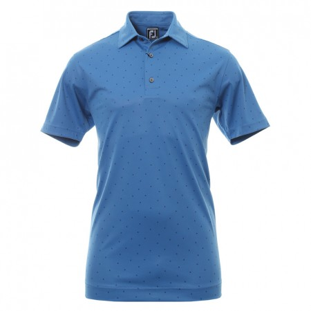 FootJoy Smooth Pique Polo - Blue Marlin