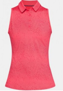 Under Armour sleeveless damespolo - pink