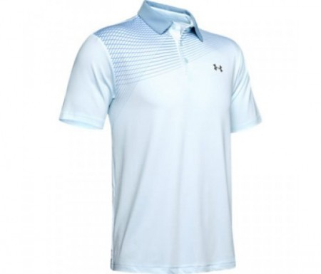 Under Armour Herenpolo Playoff Casima - Coded Blue