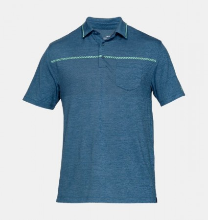 Under Amour Men's UA Playoff Pocket Polo - Blue