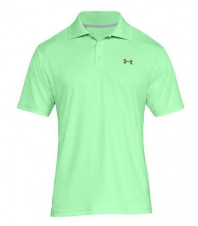 Under Armour Heren performance polo - green typhoon