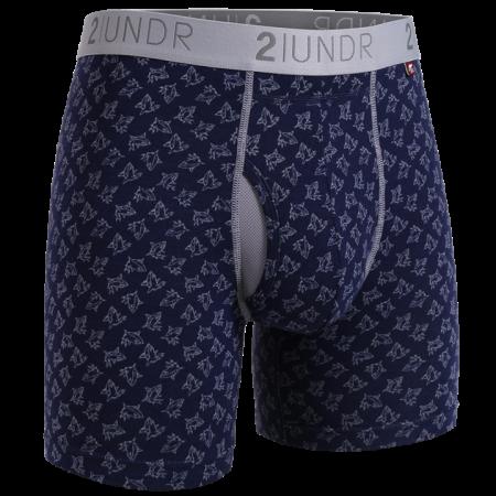 2UNDR Swing Shift Boxer Brief - Sharks
