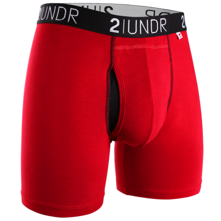 2UNDR Swing Shift Boxer Brief - Red
