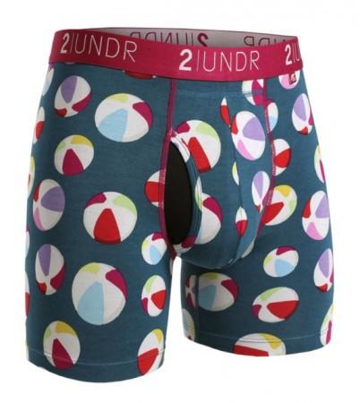 2UNDR Swing Shift Boxer Brief - Beach Balls