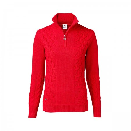 Daily Sports - Alondra LS Pullover Lined - Cardinal