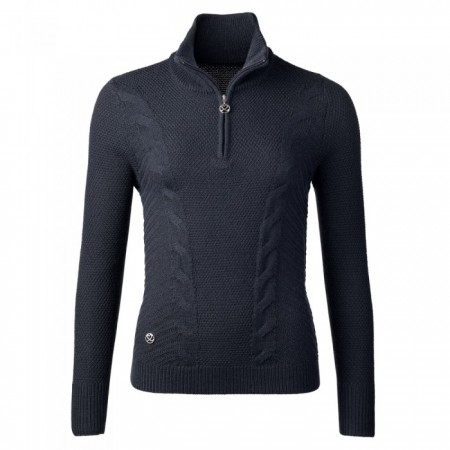 Daily Sports - Cattie LS Pullover Lined - Navy