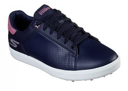 Skechers Go Golf Drive Shimmer - Navy/Pink