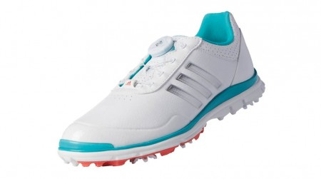 Adidas W Adistar Lite BOA - wit met blauw en zilver