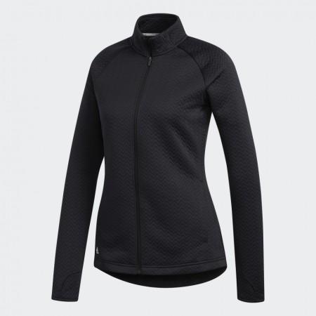 Adidas Textured Layer Jack - zwart