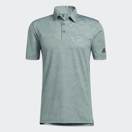 Adidas Camo Polo Shirt - Green Oxide / Grey Two